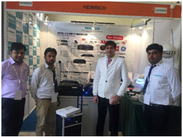 HEINRICH LIMITED PARTICIPATION IN FSAI EXHIBITION, JAIPUR